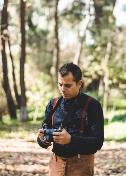Δημήτρης Χαϊδής, Cinematographer on duty.